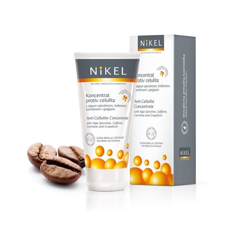 NIKEL, Koncentrat Antycellulitowy ze Spiruliną i Kofeiną, 150 ml