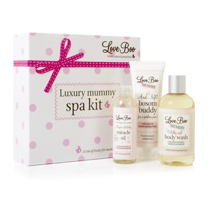 Love Boo, Luksusowy Zestaw Domowe Spa dla Mamy, 3 produkty